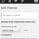 Customizing Child Theme Code